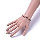 Cowhide Leather Cord Bracelets(BJEW-JB04494-06)-4