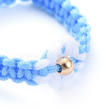Adjustable Nylon Cord Braided Bead Rings(RJEW-JR00303-06)-2