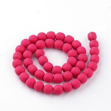Chapelets de perle en pâte polymère manuel(CLAY-Q227-M)-2