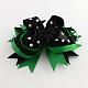 Halloween Grosgrain Bowknot Alligator Hair Clips(PHAR-R165-01)-1