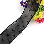 Black Polyester Ribbon(X-ORIB-Q026-07A)