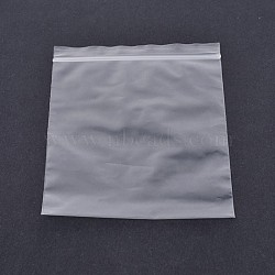 sacs en plastique à fermeture éclair sur le dessus, sacs d'emballage refermables, rectangle, effacer, 24x16 cm; épaisseur bilatérale: 0.1 mm; à propos de 100 pcs / sac(OPP-O002-16x24cm)