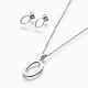 304 Stainless Steel Jewelry Sets(X-SJEW-L141-052O)-1
