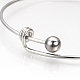 Adjustable 304 Stainless Steel Expandable Bangle Making(STAS-S073-13)-3