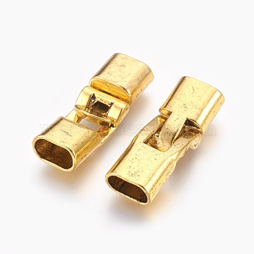 Antique Golden Alloy Clasps