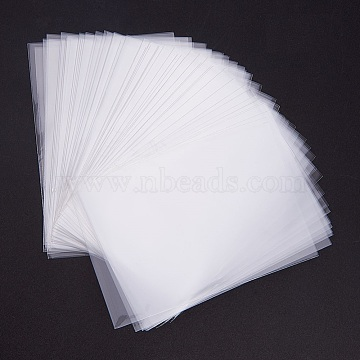 PandaHall Elite OPP Cellophane Bags, Rectangle, Clear, 10x7cm; Unilateral Thickness: 0.0035mm; about 600pcs/bag(OPC-PH0001-01-10x7)