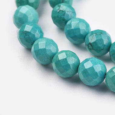 Natural Howlite Beads Strands(TURQ-C003-8mm-5)-3