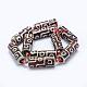 Tibetan Style dZi Beads Strands(TDZI-K003-14B)-2
