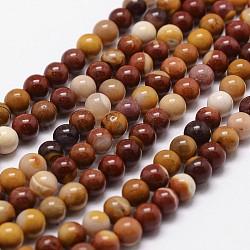"""Mookaite naturel chapelets de perles rondes, 10mm, trou: 1mm; environ 40 pcs/chapelet, 16""""(G-G735-18-10mm)"""