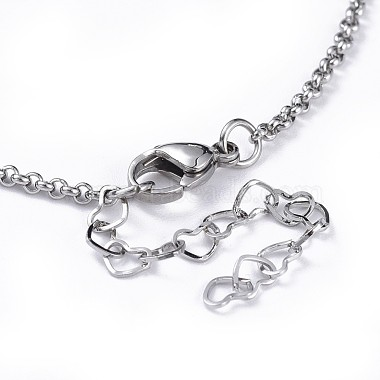 Tortoise Brass Synthetic Turquoise Lariat Necklaces(NJEW-JN02456-05)-4
