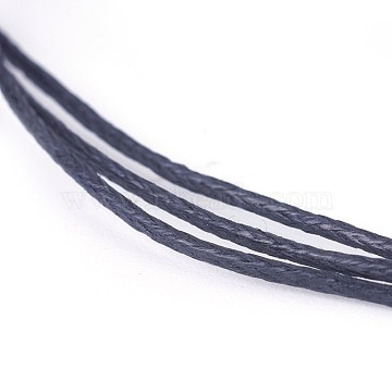 1mm Black Waxed Polyester Cord Thread & Cord