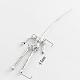 Tibetan Style Alloy Human Body Skeleton For DIY Toy Doll Making(X-TIBE-39548-AS-NR)-3