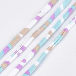 Cordons en polyester imprimés, colorées, 20~25 mm; 28.5~30 m / rouleau(OCOR-S122-01H)