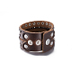 Unisex Fashion Leather Cord Bracelets(BJEW-BB15600-A)-3