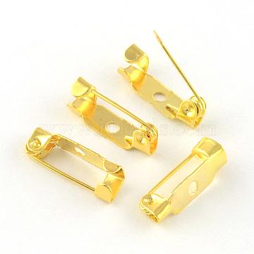 Golden Iron Back Bar Pins