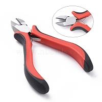 Carbon Steel Jewelry Pliers, Side Cutter Pliers, Polishing, Gunmetal, 117mm