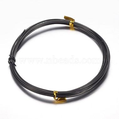 1mm Black Aluminum Wire