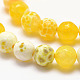 Natural Fire Agate Bead Strands(X-G-K166-07F-6mm-07)-3
