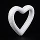 Heart Modelling Polystyrene Foam/Styrofoam DIY Decoration Crafts(DJEW-M005-05)-2