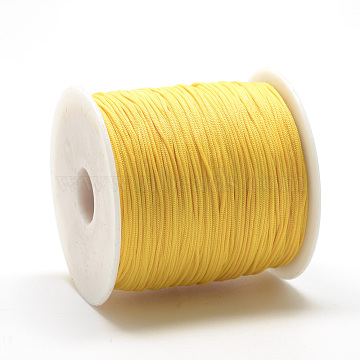 0.8mm Gold Polyester Thread & Cord