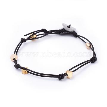 Black Brass Bracelets