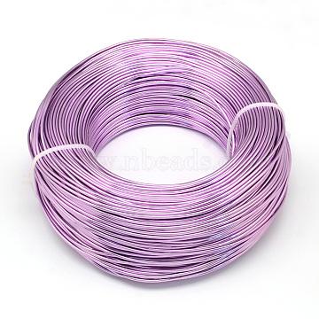 1mm MediumOrchid Aluminum Wire