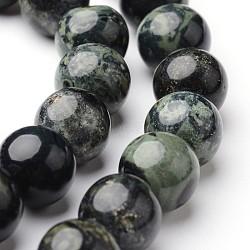 "Chapelets de perles rondes en jaspe kambaba naturel, 10mm, trou: 1mm; environ 38~39 pcs/chapelet, 15""(G-J346-29-10mm)"