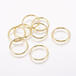 Golden Ring Iron Close but Unsoldered Jump Rings(JRG20mm)