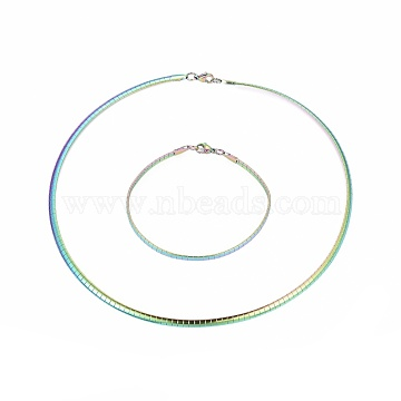 Stainless Steel Bangles & Necklaces