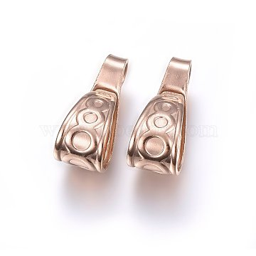 Rose Gold Stainless Steel Bail