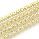 Brass Rhinestone Strass Chains(CHC-Q005-01D-1)-1