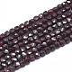 Natural Garnet Beads Strands(G-D0003-B09)-1
