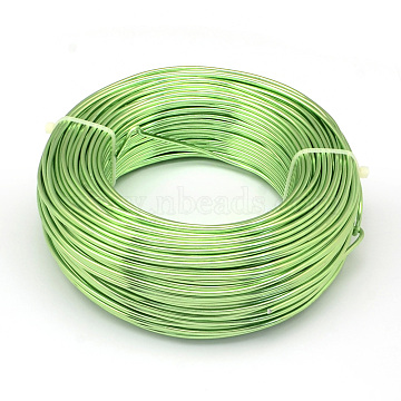 1mm LawnGreen Aluminum Wire