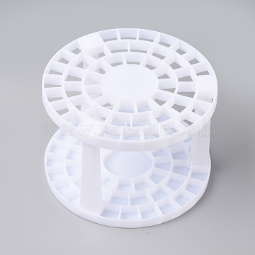 Plastic Brush Pen Holder Stand, for Painting & Drawing Supplies, White, 145.5x99.5mm(DIY-WH0157-79)