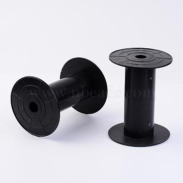 Plastic Spools, Wheel, Black, 39x98mm, Hole: 13mm(X-TOOL-R012)