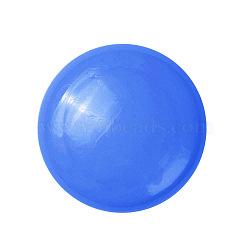 aimants de bureau, aimants ronds pour réfrigérateur, pour tableaux blancs, casiers et réfrigérateur, bleu, 39x10 mm(AJEW-E043-01B-03)