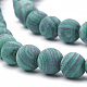 Synthetic Malachite Beads Strands(X-G-T106-199)-2