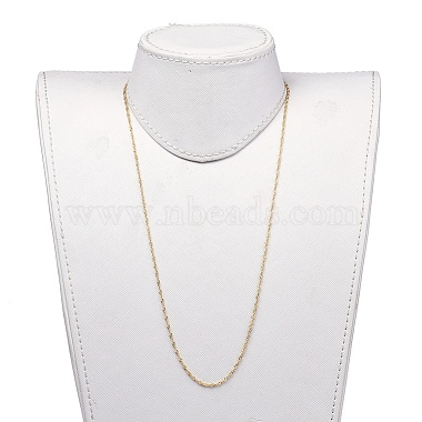 304 Stainless Steel Singapore Chains Necklaces(X-NJEW-JN02662-04)-4