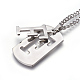 304 Stainless Steel Split Initial Pendant Necklaces(NJEW-L152-03F)-2