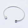 Stainless Steel Cuff Bangles(STAS-J038-25P)