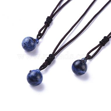 CoconutBrown Sodalite Necklaces