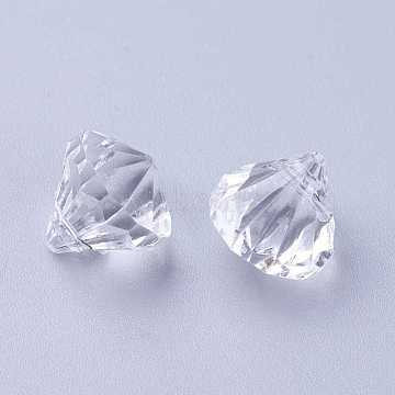 12mm Clear Drop Acrylic Charms