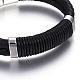 Leather Braided Cord Bracelets(BJEW-E352-06P)-2