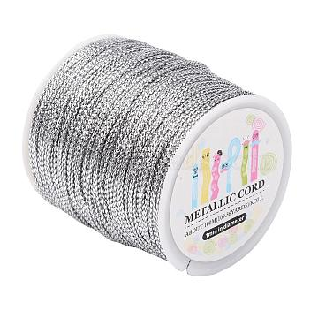 Silver Metallic Cord Thread & Cord