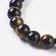 Natural Tiger Eye Beads Strands(G-C076-6mm-1B)-3