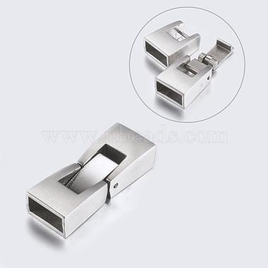 304 Stainless Steel Snap Lock Clasps(STAS-P180-22P)-2