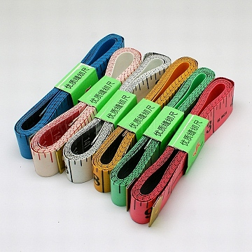 Mixed Color Plastic Rulers
