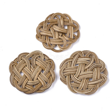 55mm BurlyWood Flower Others Beads