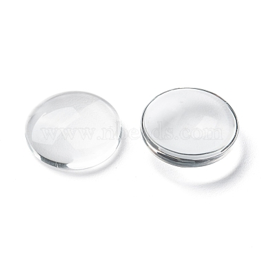 Transparent Glass Cabochons(X-GGLA-R026-15mm)-3