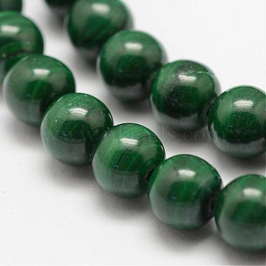Natural Malachite Beads Strands(G-F461-05-6mm)-3